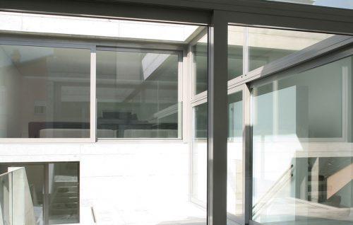 corredera y techo pvc
