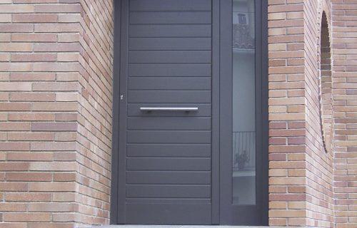 Puerta exterior de pvc
