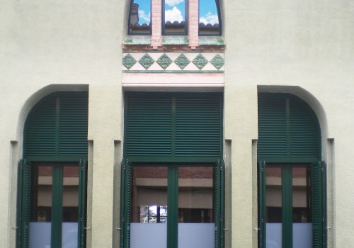 restauración ventanales